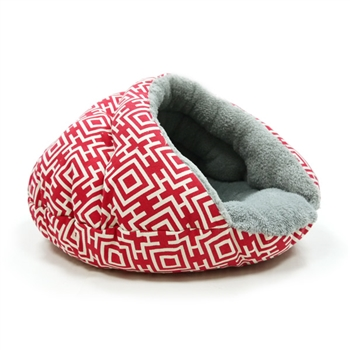 Burger Bed Modern Red