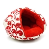 Burger Bed Floral Red