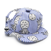 Pineapple Hat Blue