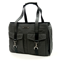 Buckle Tote Charcoal