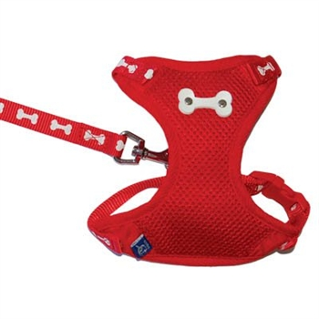 ActiveGO Bone Harness Red
