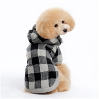 Lux Checker Sweater Coat