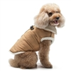 Furry Runner Coat Brown