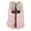 Furry Runner Coat Pink