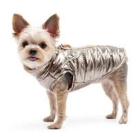 Metallic Runner Coat