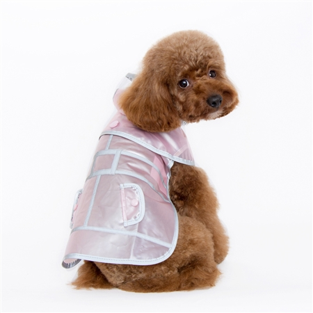 Jelly Raincoat Pink