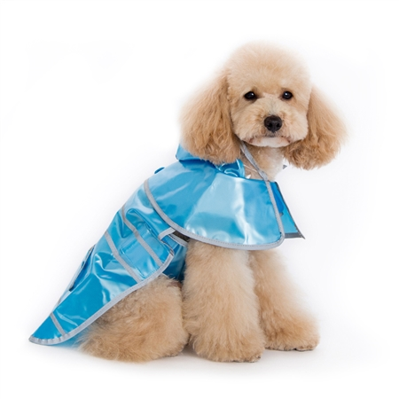 Jelly Raincoat Blue