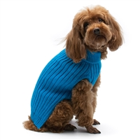 PP Basic Turtleneck Blue